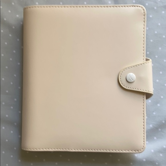 kikki.K Other - Kikki K B6 Personal  Classic Nude Leather Planner